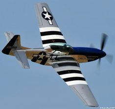 """Invasion Stripes lockheed-martini: """"piccadilly-lilly: """"Invasion stripes are a pattern of broad black-and-white markings on the wings and aft section of the fuselage of an airplane. Ww2 Aircraft, Fighter Aircraft, Military Aircraft, Fighter Jets, Grumman F6f Hellcat, Hawker Typhoon, Fixed Wing Aircraft, P51 Mustang, Supermarine Spitfire"""