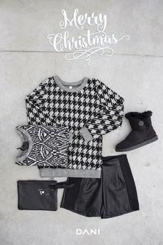 #DANI nuovo #outfit easy Christmas  #aperitif #freetime #pochette vera pelle & #shorts wow LooK su: www.danishop.it