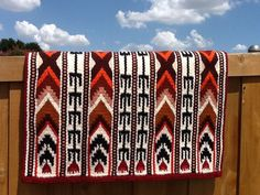 G135 Yucca Flats Saddle Blanket