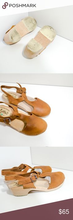 Lotta from Stockholm Highwood Brown Oiled Nuckbuck They are gently worn in excellent condition, minor signs of wear, please take a look of all the pictures.  Size: 42 Lotta from Stockholm Shoes Mules & Clogs