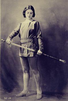 Winifred Lenihan as Joan of Arc, c. 1923