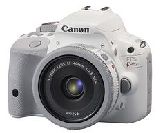 Canon Japan Releases the Rumored 'White Kiss,' a White Version of the Rebel SL1. Video chat with fellow photographers about it at https://createamixer.com/