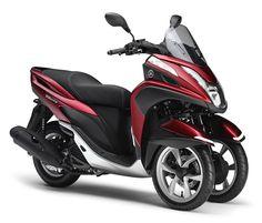 特長紹介:トリシティ125 - バイク スクーター | ヤマハ発動機株式会社