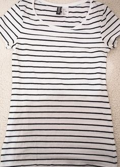 Kup mój przedmiot na #vintedpl http://www.vinted.pl/damska-odziez/bluzki-z-krotkimi-rekawami/11027042-bluzka-krotki-rekaw-hm-paski