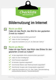 Checkliste: Rechtliche Risiken bei der Verwendung von Bildern in Social Media