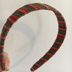 "Guatemalan 1"" Headband Multicolor Headband from Guatemala. 1"" thick at widest point None Accessories Hair Accessories"