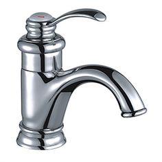 Klassische Messing Bad Waschtischarmatur - Chrom-Oberfläche