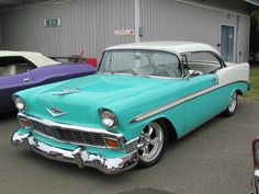 56 Chevy..Re-Pin brought to you by#HouseofInsurance #EugeneInsurance #Oregon