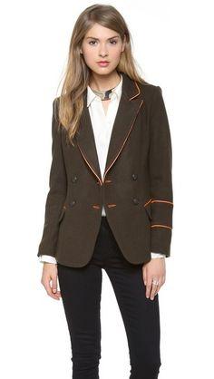 LAVEER Kadette Blazer. $539.00. #fashion #women #blazer