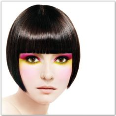 straight bob hairstyle by Paul Mitchell Hair And Nail Salon, Hair And Nails, Meduim Hair Cuts, Short Hairstyles For Women, Cool Hairstyles, Bob Hairstyle, Brilliant Brunette, Top Stylist, Great Hair