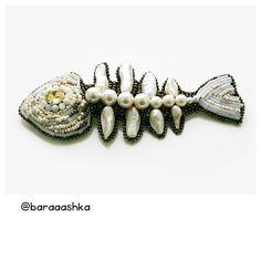 Красотка костлявая #позаказу #russiandesinger #baraaashka #designacsessories #acsessories #style #fashion #fish #baraaashkadesign #designer #spbdesign