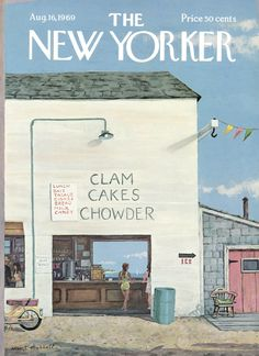 The New Yorker - Saturday, August 16, 1969 - Issue # 2322 - Vol. 45 - N° 26 - Cover by : Albert Hubbell