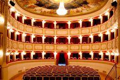 Teatro comunale,interni. #marcafermana #portosangiorgio #fermo #marche