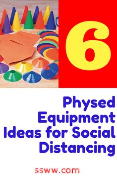 Are you looking for some ideas for physical education lessons while maintaining social distancing? I've got 6 must-have pieces of equipment that will help you keep kids six feet apart in large spaces according to the latest health guidelines. These ideas are meant to get you thinking and give you some great ideas for elementary and pre-K physed activities for the coming school year. #physed #physicaleducation #socialdistancing #6feetapart #physedsuperhero Physical Education Activities, Pe Activities, Health And Physical Education, Education And Literacy, Pe Games Elementary, Pre K Lesson Plans, Fun Moves, Pe Lessons, Pe Teachers