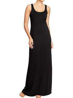 leopard-spot: The Search for The Perfect Black Maxidress: Old Navy