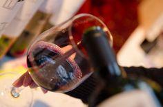 Weindegustation während der Fiesta Argentina