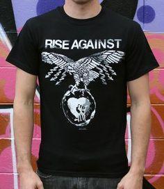 Rise Against, Band Merch, Tees, Mens Tops, T Shirt, Fashion, Supreme T Shirt, Moda, T Shirts