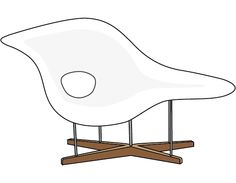 Charles and Ray Eames - La Chaise