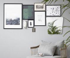 Valitse kotiisi persoonallista taidetta – tunnistat oikean, kun näet sen Bedroom Diy, Gallery, Decor, Gallery Wall Bedroom, Frame, Home, Bedroom, Wall, Home Decor