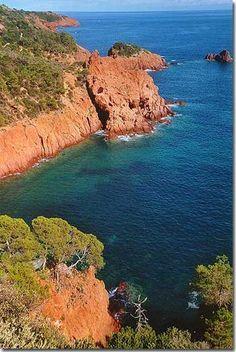 Cap Esterel, (Var) Côte d'Azur