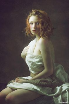 Neoclassical is a series of beautiful photographs of Thierry Bansront, a talented French photographer who gets inspiration from classical paintings to create h