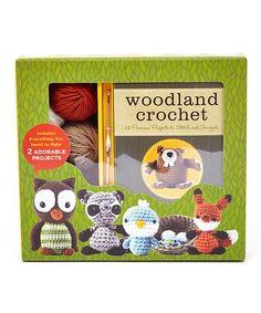 Woodland Crochet Set #zulily #zulilyfinds