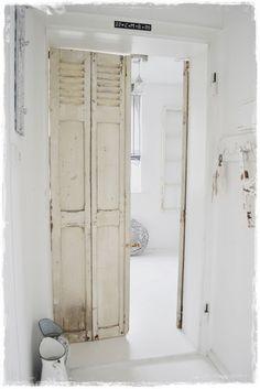 recycled shutter doors