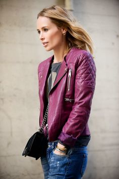 Designer Leather Jacket  http://www.leathernxg.com/38-womens-leather-designer-wear