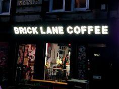 #Brick Lane #Coffee in #London. Photo by alphacityguides. #travel