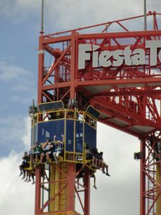 fiesta texas .... I should've went on with my brother ....
