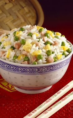 Cantonese rice- Riz cantonais Cantonese rice - – World Food Healthy Breakfast Potatoes, Healthy Breakfast Recipes, Healthy Recipes, Healthy Food, Keto Crockpot Recipes, Asian Recipes, Ethnic Recipes, Food Snapchat, Warm Food