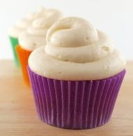 sweet potato cupcake with brown sugar cream cheese icing...sounds yummy