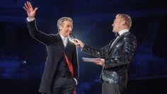 Peter Capaldi and Graham Norton at BBC Worldwide Showcase 2014