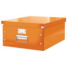 Leitz CLICK & STORE Archiv Box gross DIN A3 orange metallic LE3304 60450044