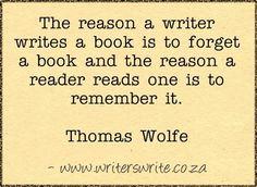 Quotable - Thomas Wolfe