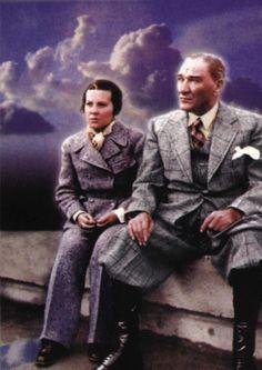 Atatürk & Sabiha Gökçen