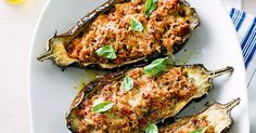 These moreish stuffed eggplants are just the thing for chilly nights.