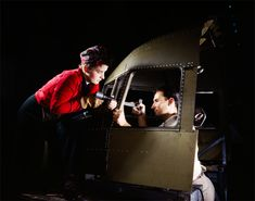 WWII Photo, Rosie The Riveter, Riveting partners working on a B-25 Bomber Plane, War Photography, 1942, Urban Wall Decor, Industrial Decor