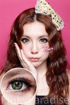 Vassen Shinny Green Circle Lenses (Colored Contacts) $23.90
