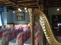 Cherry contacted me to play the harp for her wedding at Highbury Hall (Moseley), a darling pink event filled with […]