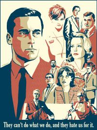 Mad Men Art Poster