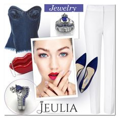 """JEULIA"" by j-sharon ❤ liked on Polyvore featuring Marques'Almeida, ESCADA, Prada, jawerly and jeulia"