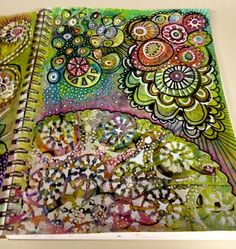 Must get my colored pencils out and doodle like this!!!
