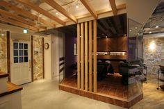 横浜の美容室の内装