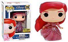 Funko POP Disney: The Little Mermaid - Ariel (Glitter) Hot Topic Exclusive Ariel Disney, Pop Disney, Disney Little Mermaids, Ariel The Little Mermaid, Disney Princess, Funk Pop, Wall E, Soft Grunge, Grunge Style