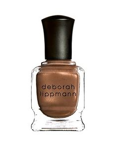 Created with Mary J. Blige, sultry golden caramel. | Long-wearing, quick-drying, highly pigmented and free of formaldehyde, formaldehyde resin, toluene dibutyl phthalates and camphor. | Deborah Lippma