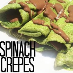 Spinach Crepes and Spinach Protein Mugcake