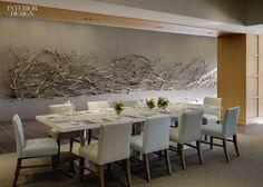 5′x33′ Manzanita Organic Art by Paul Schick installed in the Soltair Restaurant & Bar at Hotel Paradox, Santa Cruz, CA