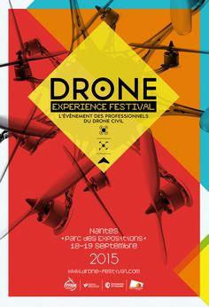 Drone Experience Festival 2015, l'événement des professionnels du drone civil, Nantes