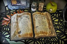 Tips and tricks for throwing your won witches tea party. Spell book